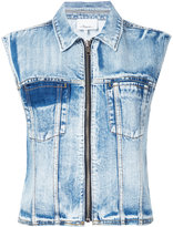 3.1 Phillip Lim Denim vest - women - Cotton - 2