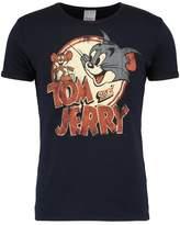 Logoshirt Tom Und Jerry Print Tshirt Navy