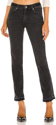Free People Cuffed Slim Boyfriend Jean