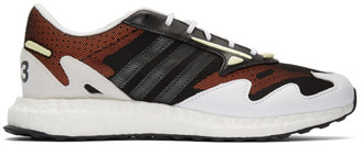 Y-3 Y 3 Black and White Rhisu Run Sneakers
