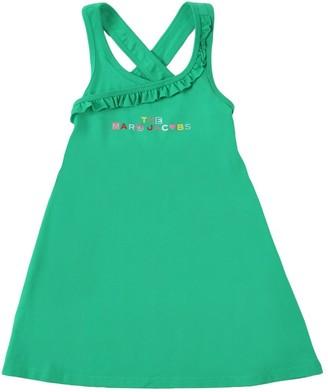 Little Marc Jacobs Organic Cotton Jersey Dress