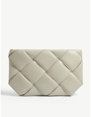 Bottega Veneta Padded leather clutch bag