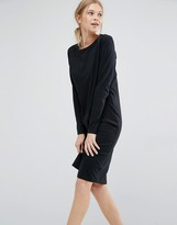 Dr. Denim Long Sleeve Jersey Dress