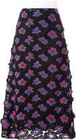 Marni 3D floral macramé skirt - women - Nylon/Polyester - 40