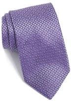 BOSS Men's Geometric Woven Silk Tie
