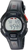 Timex Men's T5H581 Ironman Classic 30 Full-Size Resin Strap Watch