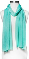 Xhilaration Women's Jersey Knit Fashion Scarf Mint