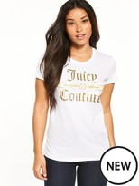 Juicy Couture Trk Juicy Luxe Classic SS Tee