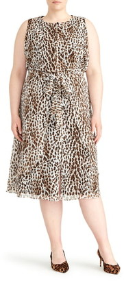 Rachel Roy Collection Sleeveless Tie Waist Dress