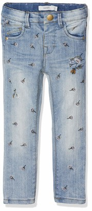 Name It Baby Girls' Nmfpolly Dnmbaguna 1083 Pant Jeans