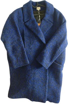 Bel Air Blue Wool Coats