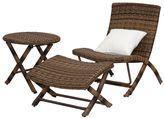 west elm Perkins 3-Piece Outdoor Lounge Set