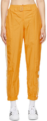 adidas Yellow Paolina Russo Edition Striped Track Pants
