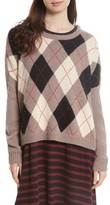 The Great Women's The Argyle Crew Sweater