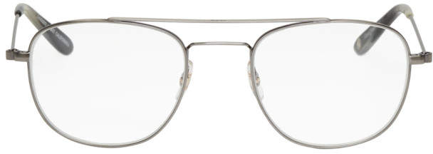 Garrett Leight Silver Club House Glasses