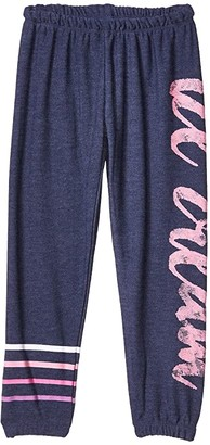 Chaser Ice Cream Star Pants Cozy Knit Sweatpants (Toddler/Little Kids) (Avalon) Girl's Casual Pants