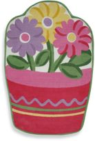 Fun Rugs Fun RugsTM Flower Pot 3-Foot 3-Inch x 4-Foot 10-Inch Rug