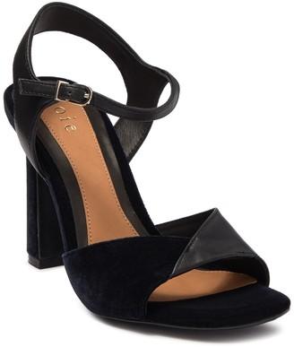 Joie Okina Ankle Strap Velvet Sandal