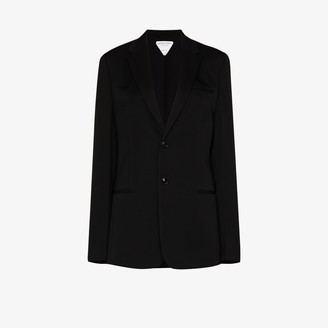 Bottega Veneta Single-Breasted Blazer Jacket