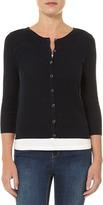 Dorothy Perkins Navy stitch front cardigan