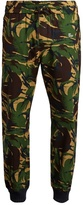 Off-White Camouflage-print slim-leg cotton track pants