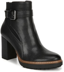 Naturalizer Cora Leather Booties Women's Shoes