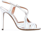 L'Autre Chose ankle length sandals - women - Calf Leather/Leather - 35.5