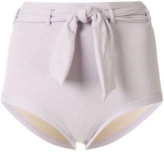 Peony Swimwear High-Rise Bikini Bottoms