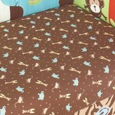 Pem America Zoo Zoo Fitted Sheet by Too Good by Jenny