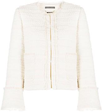 Alberta Ferretti Tailored Tweed Jacket