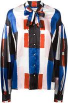 Osman pussy-bow collar shirt