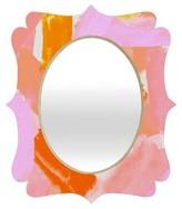 DENY Designs Decorative Wall Mirror Multi-Colored