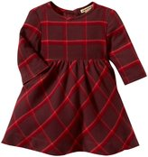 Anthem of the Ants Chalet Plaid Dress (Baby) - Winterberry-12 Months