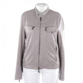 Etro Grey Leather Jacket for Women