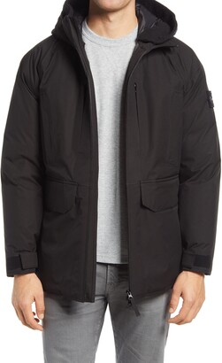 Stone Island Real Down Hooded Jacket
