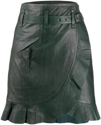 Etoile Isabel Marant Wrap-Front Skirt
