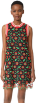 Anna Sui Poppy Trellis Sport Shift Dress