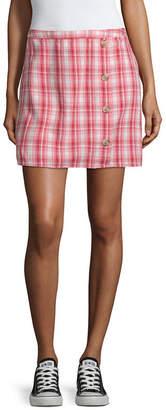 Arizona Short A-Line Skirt-Juniors