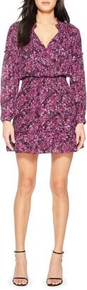 Parker Parma Patterned Silk Blend Dress