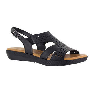 Easy Street Shoes Womens Bolt Strap Sandals