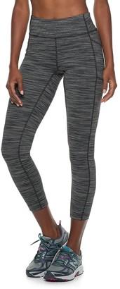 Tek Gear Women's Performance Side Pocket Mid-Rise Ankle Leggings