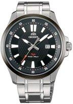 Orient UNE1001B Men's SP Black Dial Stainless Steel Bracelet Watch
