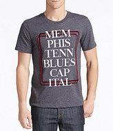 William Rast Memphis Blues Capital Graphic Tee