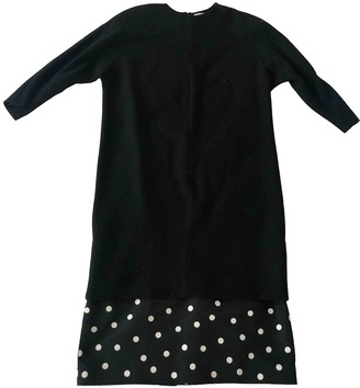 Gianfranco Ferre Black Cotton Dress for Women Vintage