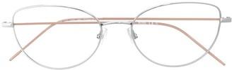 HUGO BOSS Cat-Eye Glass Frames