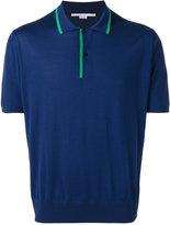Stella McCartney contrast stripe polo shirt