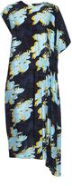 Cédric Charlier Floral -print silk dress