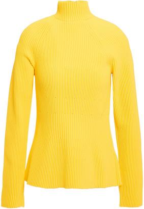Carolina Herrera Ribbed-knit Turtleneck Sweater