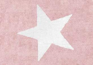 Camilla And Marc Aratextil Wake Rug, Cotton, Baby Pink, 120 x 160 x 30 cm