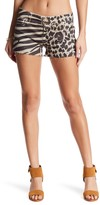 Genetic Los Angeles Stevie Cheetah and Zebra Print Shorts